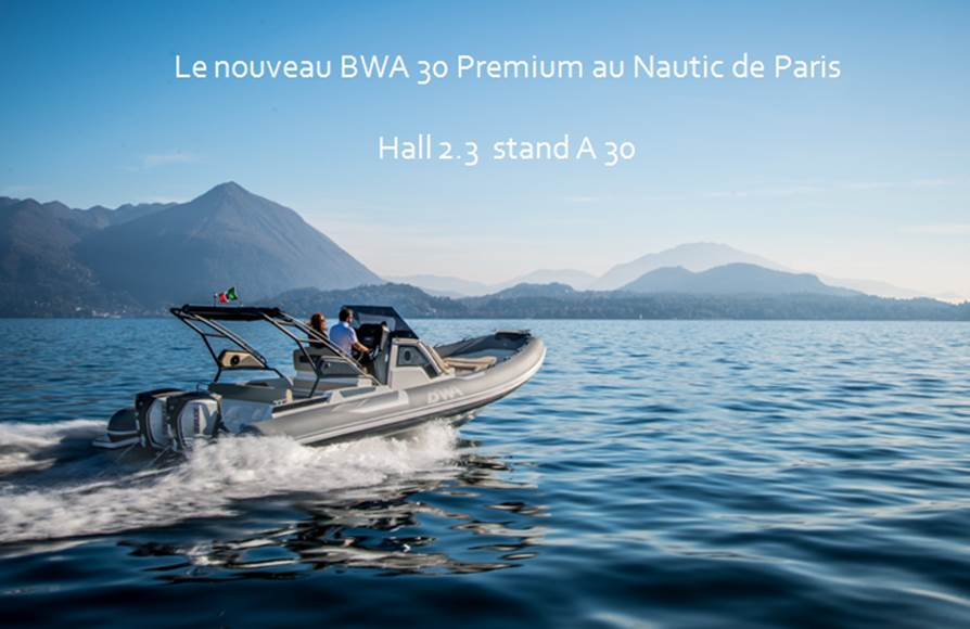BWA au salon Nautic de Paris