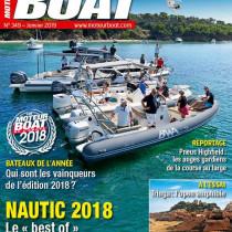 Notre 22 GTO en couverture de Moteur Boat
